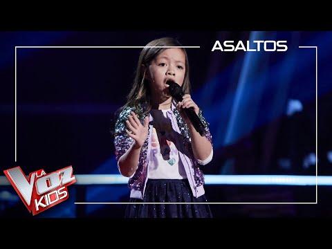 Cahaya Lovisa canta 'Heal the world' | Asaltos | La Voz Kids Antena 3 2021