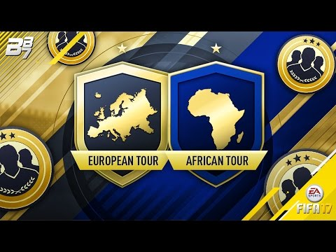 AFRICAN TOUR AND EUROPEAN SQUAD BUILDING CHALLENGES COMPLETED! | FIFA 17
