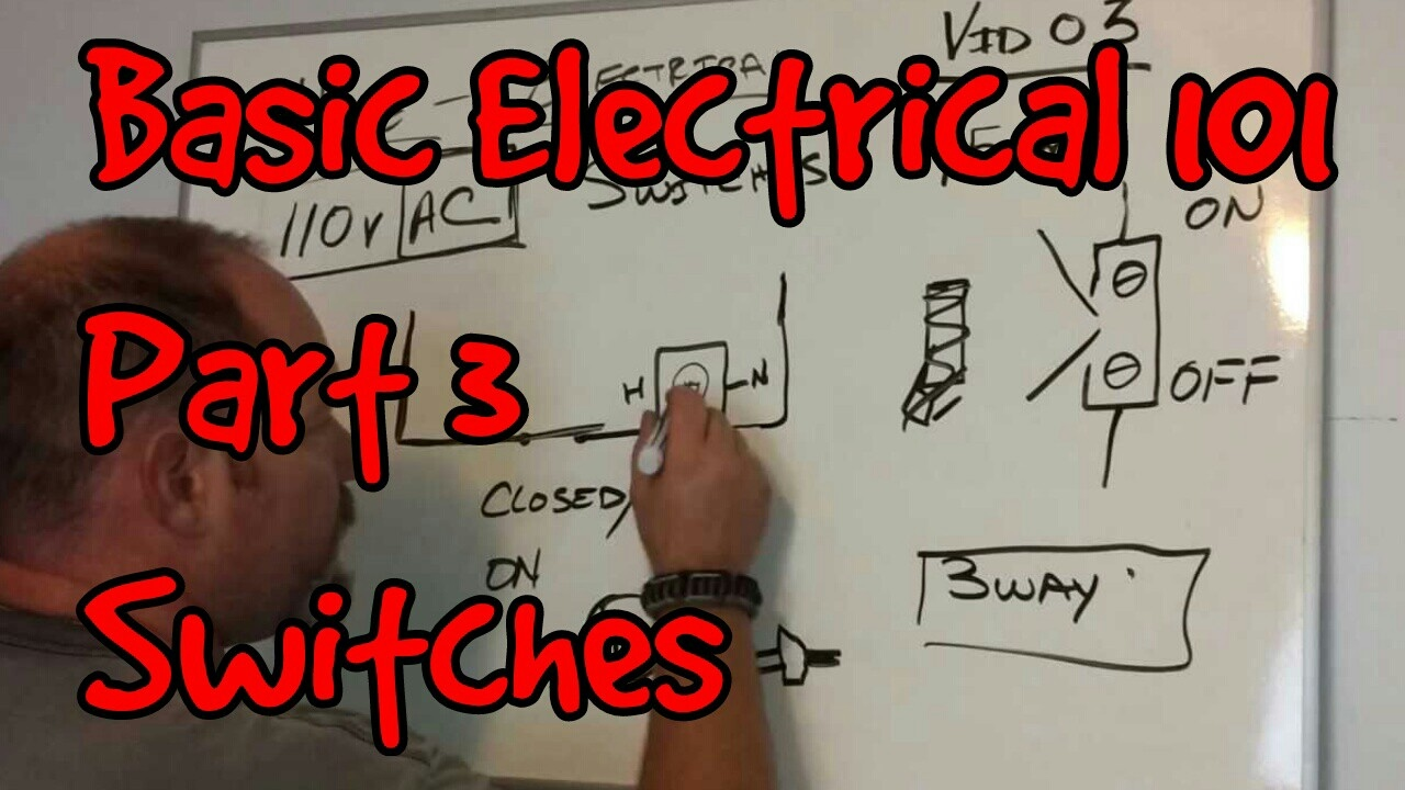 BASIC ELECTRICAL 101 #03 ~ SWITCHES - YouTube