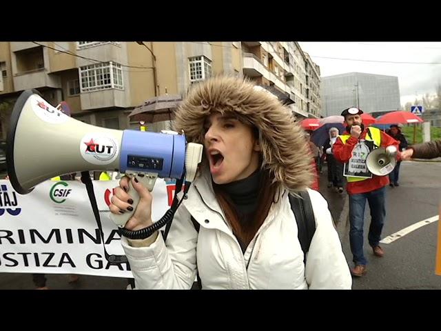 Suspendidos 76 juicios más por la huelga de justicia