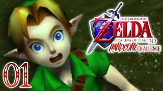 The Legend Of Zelda Ocarina Of Time 3D [Hardcore Challenge]