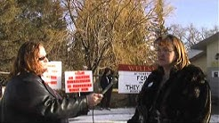 Occupy Idaho Falls Stops Illegal Foreclosure