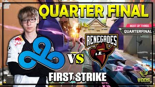 WINNER TO MAIN EVENT! CLOUD9 VS RENEGADES  | VALORANT FIRST STRIKE CLOSED QUALIFIERS