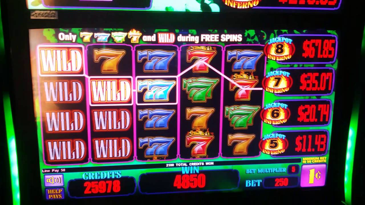 Jackpot Inferno Slot Machine