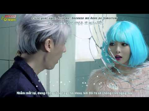 [Vietsub + Engsub + Kara] Trouble Maker (현아,장현승) - Now/ There Is No Tomorrow (Uncut Version)