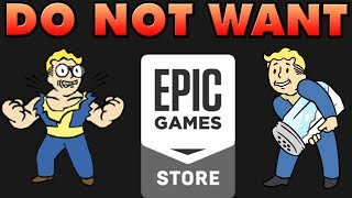 Epic Store Exclusives are BAD and Steam is BAD too!
