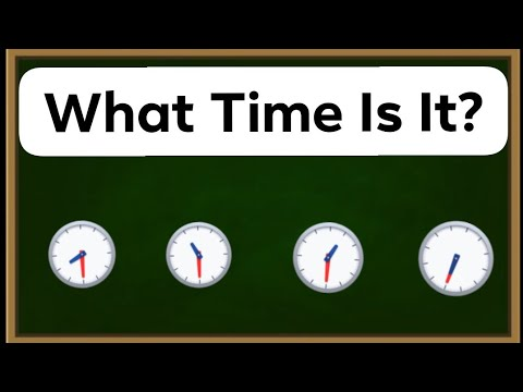 Learning to tell the time on a clock Free English lesson Learning with Alia