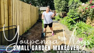 Garden Project Begins on the Hottest Weekend Yet | Youpenga Vlogs