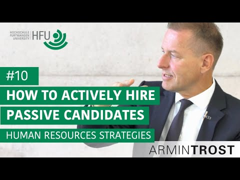 #10 How To Actively Hire Passive Candidates