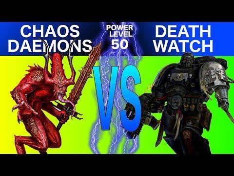 Warhammer 40k 8th Edition Live Battle Report: Chaos Daemons (Khorne) vs. Deathwatch