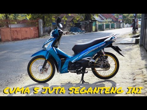 Review Wave 125i Helm in modif cuma 5jt simple thailook *175