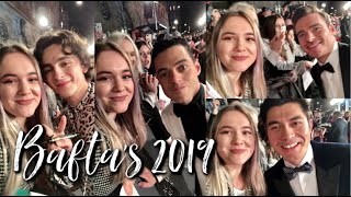 BAFTA's Red Carpet 2019 Vlog || TheSimoneLife