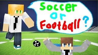 Minecraft SOCCER - NEW FOOTBALL IN MINECRAFT MINIGAME! (Minecraft Minigame)