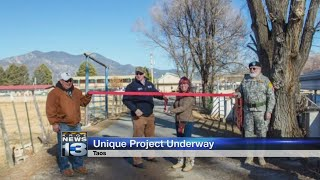 Project to help New Mexico veterans takes off in Taos
