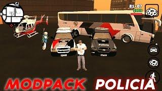 GTA SA ANDROID MODS: PACK DA POLÍCIA #38