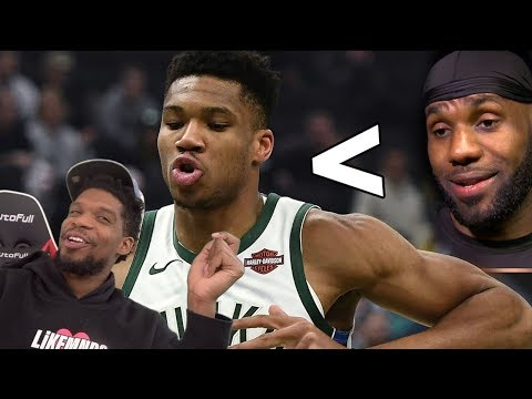IS GIANNIS PLAYING BETTER THAN LEBRON? 50 PT GAME & HAWKS HIGHLIGHTS REACTION!