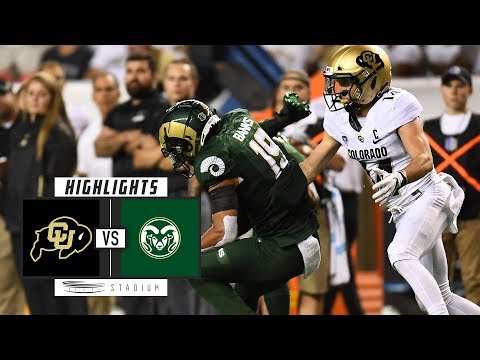 Colorado vs Colorado State Football Highlights (2018) | Stadium