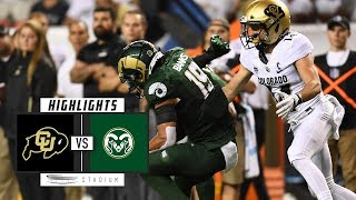 Colorado vs Colorado State Football Highlights (2018)   Stadium