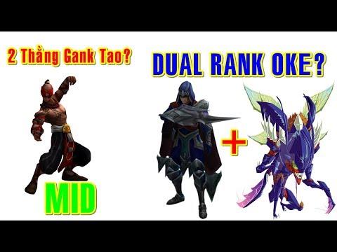 LEESIN MID Đá Đầu 2Thằng Talon vs Kha'Zix Dual Rank | Trâu Best Udyr