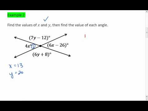 Watch on Parallel Lines And Transversals Worksheet
