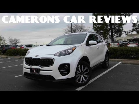 2017 Kia Sportage EX 2.4 L 4-Cylinder Road Test & Review | Camerons Car Reviews