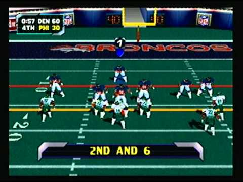 NFL Blitz 2000 - Denver Broncos vs Philadelphia Eagles (2nd Half)