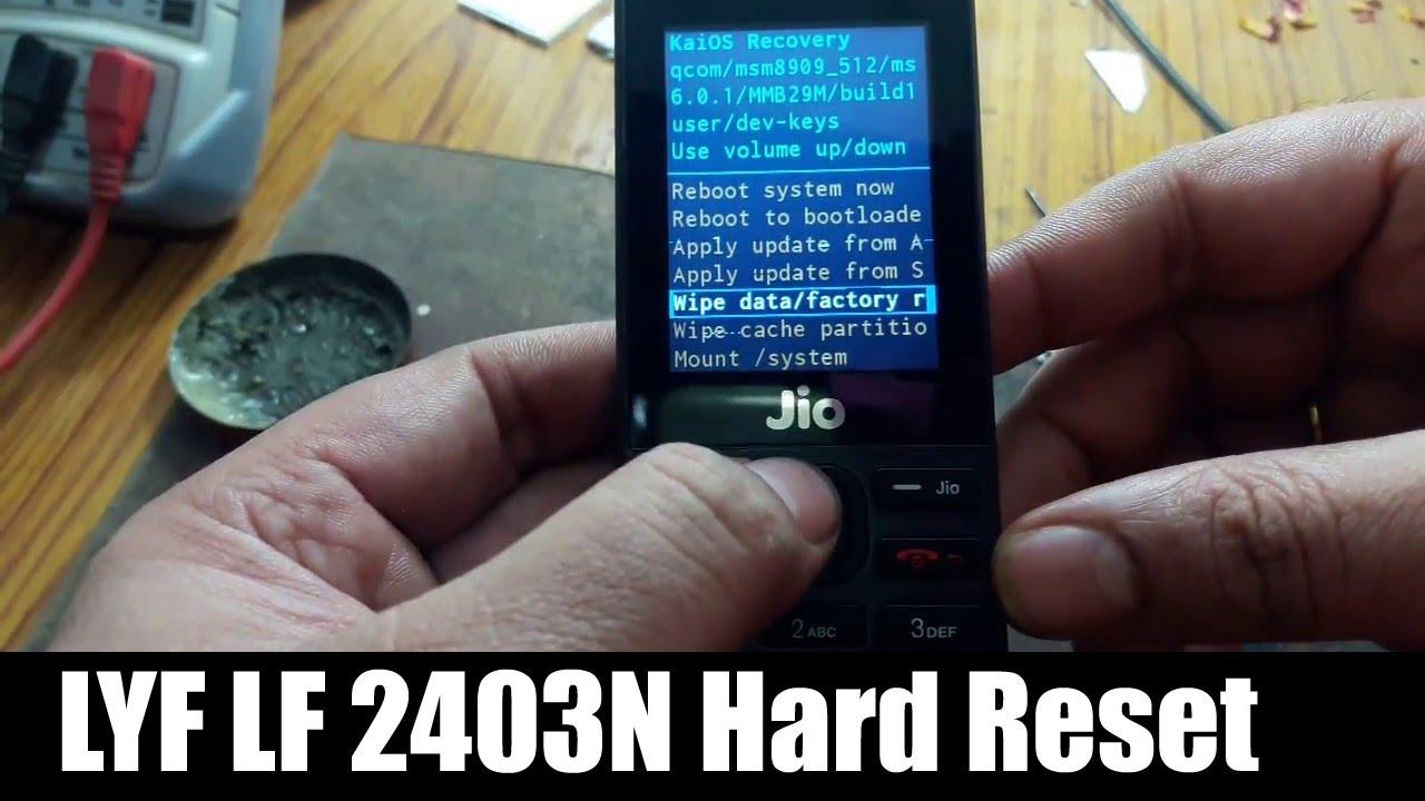 LYF LF 2403N Hard Reset || LYF LF2403N Ko Hard Reset Kaise Kare?