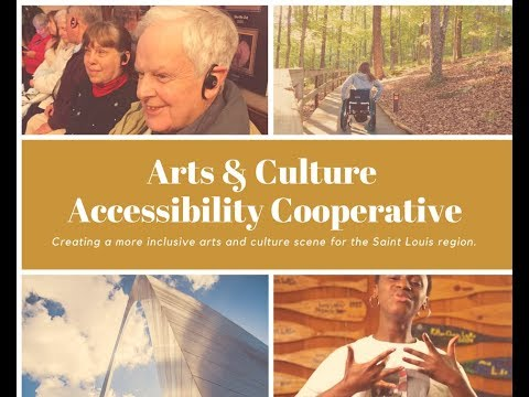 Arts & Culture Accessibility Cooperative: Wednesday, December 6th 2017 at Paraquad,