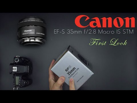 Canon EF-S 35mm f/2.8 Macro IS | Hands On First Look | 4K