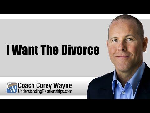 I Want The Divorce