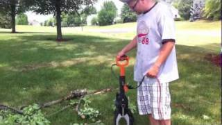 WORX JawSaw electric limbing and trimming chainsaw - Review