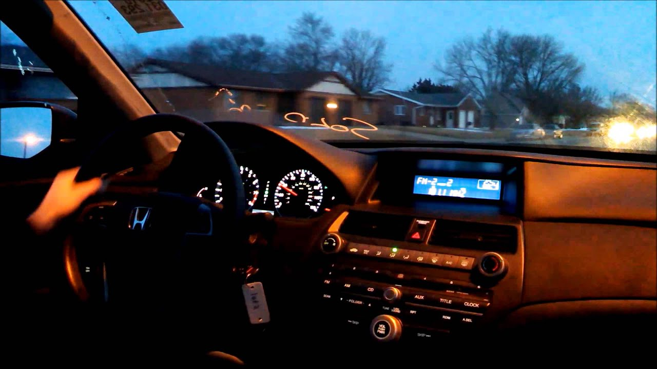2010 Honda Accord LX Night Drive - YouTube