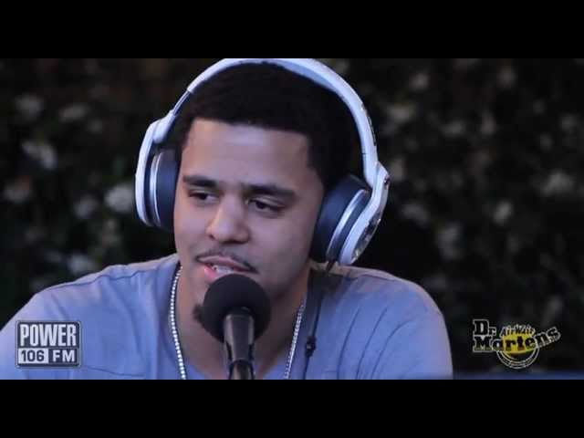 8f91aaa4874b7 J Cole Speaks On Born Sinner Title At Power 106 s BackStage Breakfast -  Naijafy