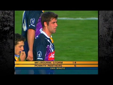 Cameron Smith's First NRL Try
