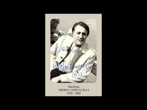 """Baritono PIERO CAPPUCCILLI - """"Mia sposa sarà la mia bandiera"""" (Live 1984)"""
