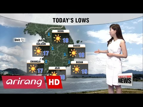 Hotter today under blazing sunshine