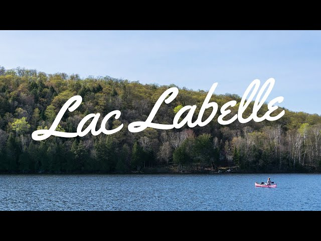 LAC LABELLE | #QUEBEC  | 🎥 SONY AX100 | KARMA GoPro (crash)