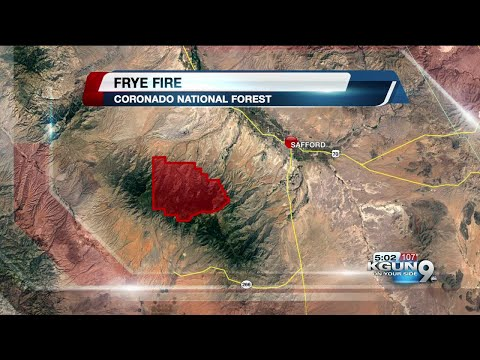 Personnel increases as Frye Fire grows