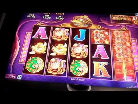 5 Dragons Live Play Crown Casino pokie slot wins