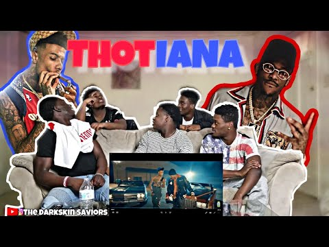 Blueface - Thotiana Remix ft YG Dir by ColeBennettReaction
