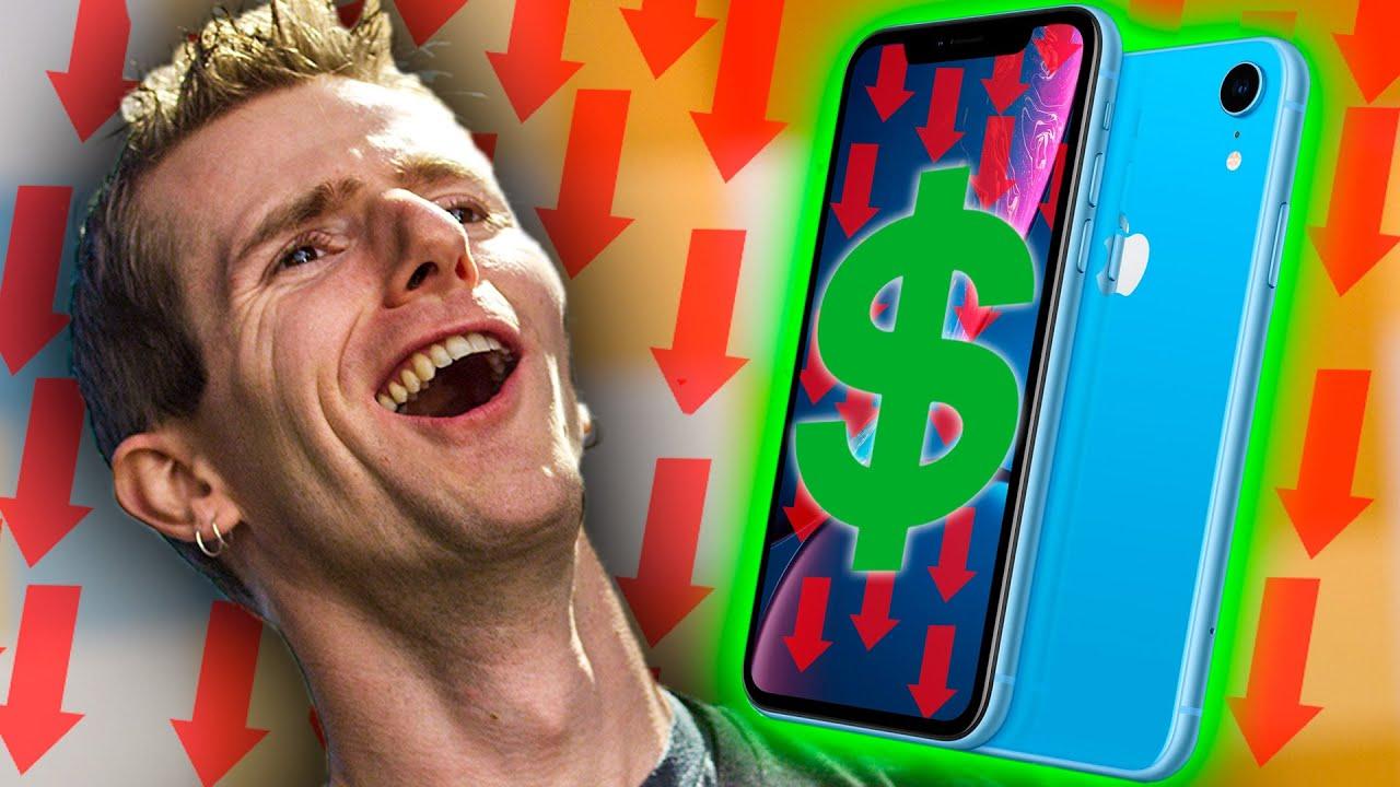 HA! No One's Buying iPhones!