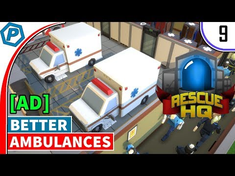 rescue-hq---the-tycoon-[ad]-|-better-ambulances-|-#9