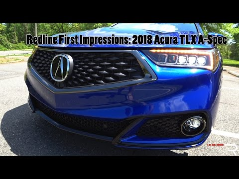 Acura TLX SHAWD ASpec Redline First Impressions YouTube - 2018 acura tl headlights