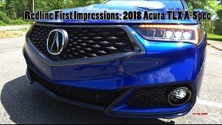 2018 Acura TLX SH-AWD A-Spec – Redline: First Impressions