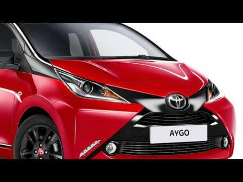 Toyota Aygo x cite exterior and interior details