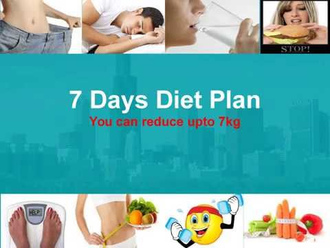 7-days-diet-plan-to-reduce-upto-7kg-weight