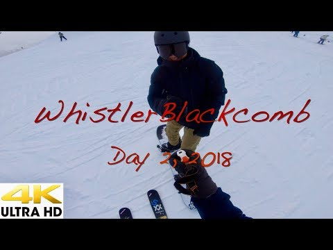 WhistlerBlackcomb Opening Weekend     Day 2  2018 in 4K