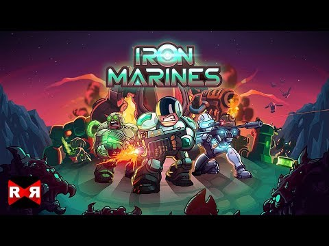 Iron Marines (By Ironhide) - iOS / Android - Gameplay Video