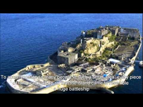 Japan Travel: Gunkanjima observe overwhelming island from boat Nagasaki city, Kyushu
