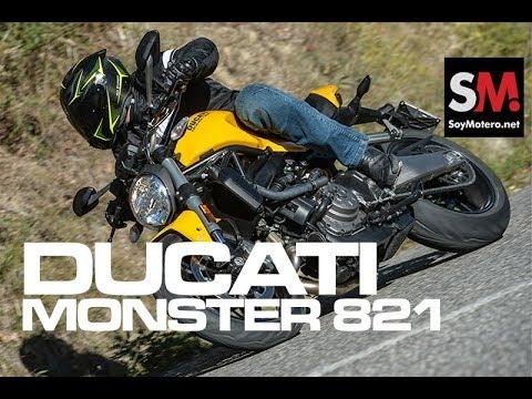 Ducati Monster 821 2018: Prueba Moto Naked [FULLHD]